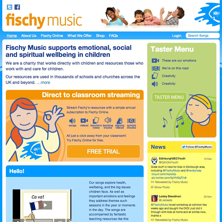 Fischy Music - Home Page