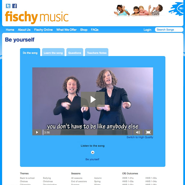 Fischy Music - Song Page
