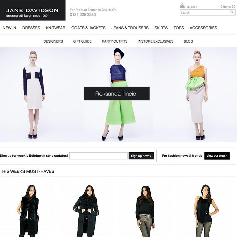 Jane Davidson - Home Page