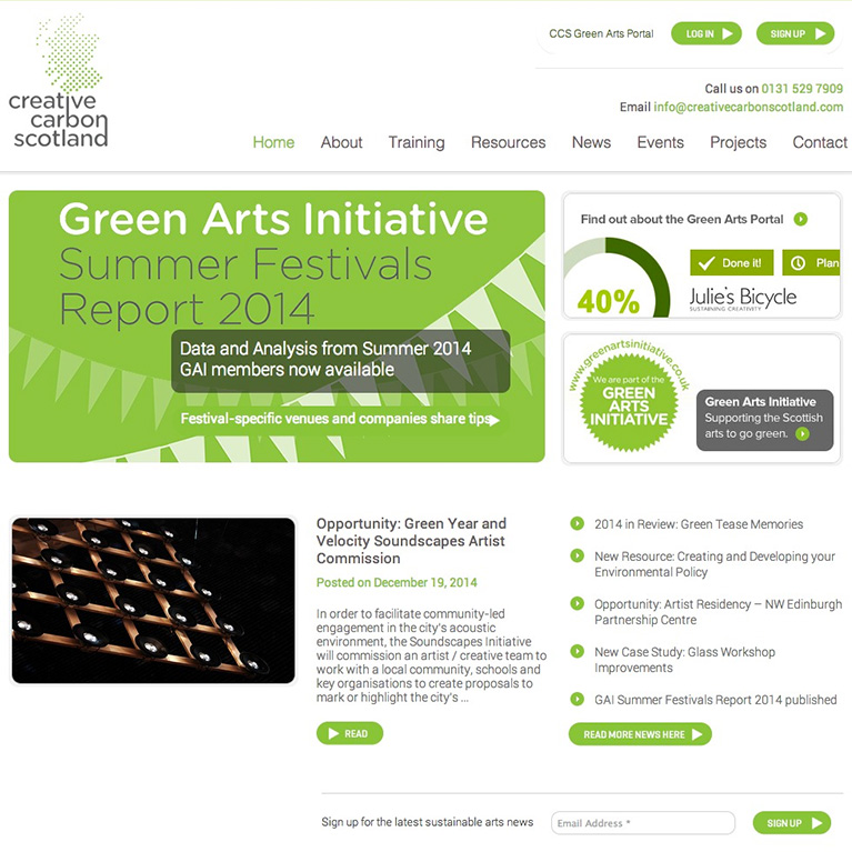 Creative Carbon Scotland - Home Page