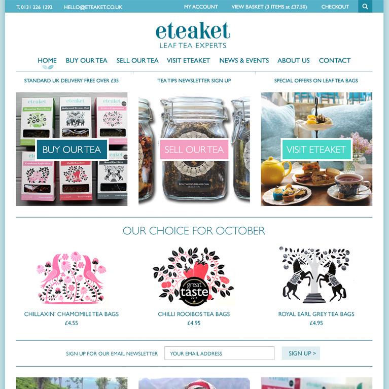 eteaket home page