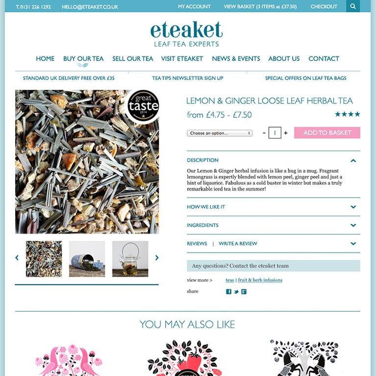 eteaket product page