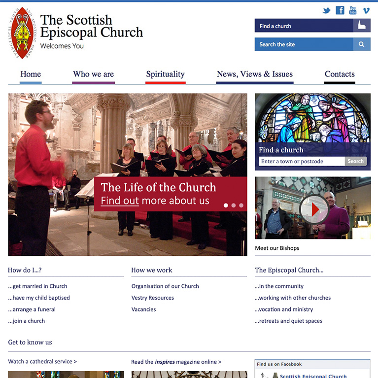 Scottish Episcopal Church - Home Page